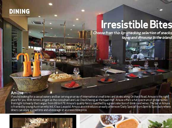 Sabio By The Sea – Irresistible Bites from SINGAPORE BUSINESS REVIEW