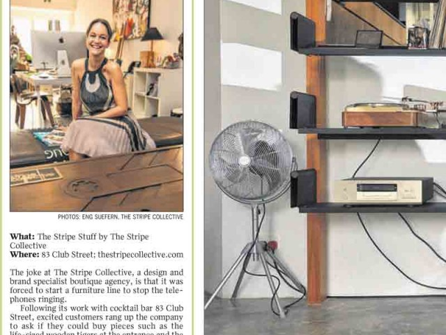 Furnishing Touch, TSC hits the Straits Times
