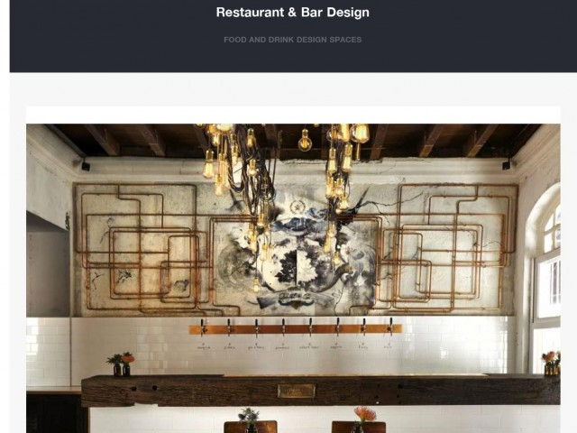 Oxwell & Co in Restaurant & Bar Design